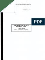 Libro Verde Union Europea Sobre Ruido