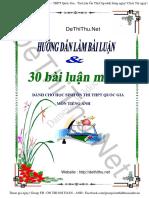 30 bài luận tiếng Anh thi THPT và DH.pdf