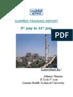Full Ntpc Report
