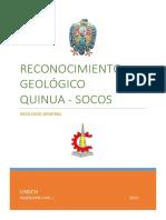 Informe de Geología. Tramo
