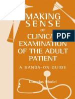 D G Model Making Sense of Clinical Examination of the Adult Patient Hands-On Guide