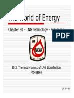 30C - Thermodynamics of LNG Liquefaction Processes
