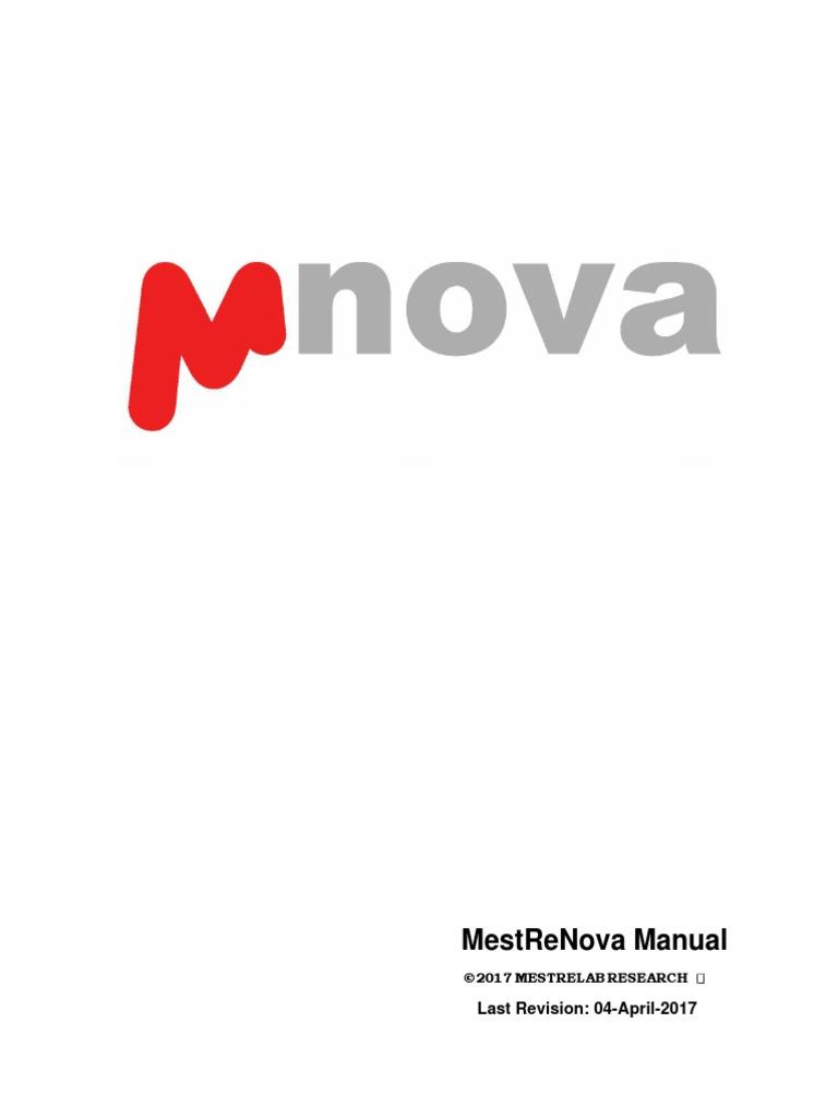 Mestrenova 11 0 4 Manual Nuclear Magnetic Resonance Software Original File Svg Nominally 573 X 444 Pixels Size