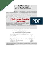 Entendiendo La Conciliación Bancaria en La Contabilidad