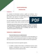 Gestión Empresarial - Materia 1