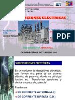 Sub Estaciones Electricas - Venezuela