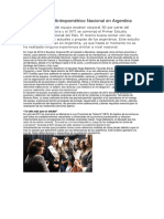 Primer Estudio Antropométrico Nacional en Argentina