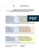 Pacejet ROI Spreadsheet Shipping Software