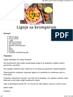 Lignje Sa Krompirom - Gastro Priče - Gastro