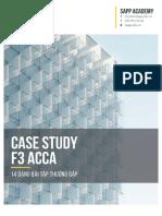 Case-Study-F3- ACCA - 14 Dạng Bài Thường Gặp
