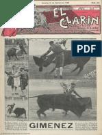 El Clarín (Valencia). 25-2-1928