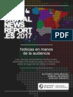 Digital News Report Espana 2017