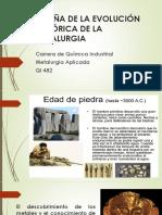 No. 1 Qi 482 Reseña de La Evolución Histórica de La Metalurgia