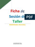 Sesión de Taller de Habilidades Sociales