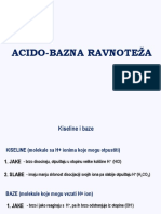 Acido-bazna Ravnozeža - STOM