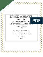 Vectors n Matrices Classifieds