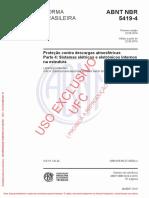 NBR - 5419-4 - 2015 - Proteção Contra Descargas Atmosféricas - Parte 4 - Sistemas Elétricos e Eletrônicos Internos na Estrutura.pdf