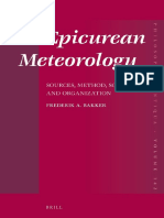 Epicurean Meteorology