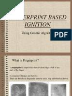 Fingerprint Based Ignition