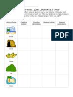 landform measure companion worksheet
