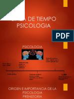 Linea de Tiempo Psicologia
