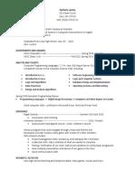 zack lantzy resume