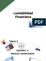 Razones o Indices Financieros 3