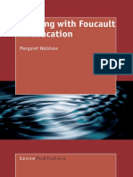 Working With Foucault in Educationa