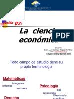 0Sesión 02 La Economía Como Ciencia