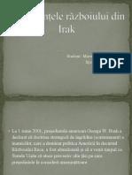 Consecintele Razboiului Din Irak