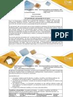 Guía de actividades y rubrica de evaluacion- Actividad 1 Reconocimiento - Estudiar y analizar los conceptos claves