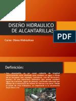 Diseño de Alcantarillas1