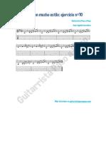 Blues Con Mucho Estilo Ejercicio 10 en PDF de GPAP