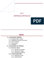 Materiales Metálicos-No Férreos