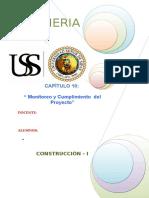 Monitoreo y Cumplimiento  del Proyecto.doc