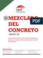 Mezcla de Concreto