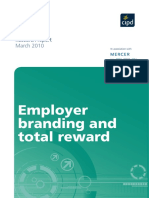 Employer Branding and Total Reward 2010