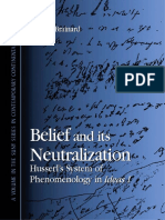 (SUNY Series in Contemporary Continental Philosophy) Brainard, Marcus_ Husserl, Edmund-Belief and Its Neutralization _ Husserl's System of Phenomenology in Ideas I-State University of New York Press (