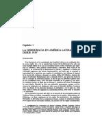 Valenzuela y Hartlyn, La Democracia en América Latina Desde 1930 (en Bethell, t.12)