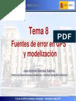 Fuentes de Error y Modelizacion