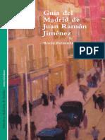 Guía del Madrid de Juan Ramón Jimenez