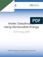 IRENA-ETSAP Tech Brief I12 Water-Desalination.pdf