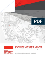 Death of a Yuppie Dream (B Ehrenreich)