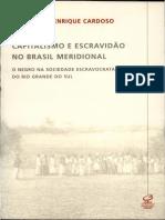 Aula 6_Fernando Henrique Cardoso - Capitalismo e Escravidão