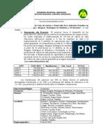 Produccion de Cana de Azucar y Desarrollo de La Industria Panelera en Las Provincias de Bagua Bongara Rodriguez de m