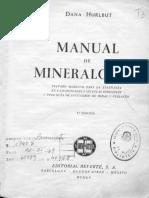 Manual de Mineralogia Completo Dana I