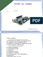 Taller Arduino Cabal 20111001