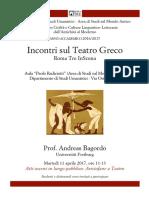 Atti Osceni in Luogo Pubblico Aristofane