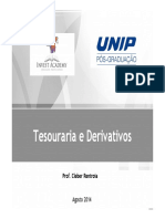 Tesouraria e Derivativos