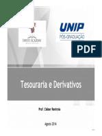 Tesouraria e Derivativos